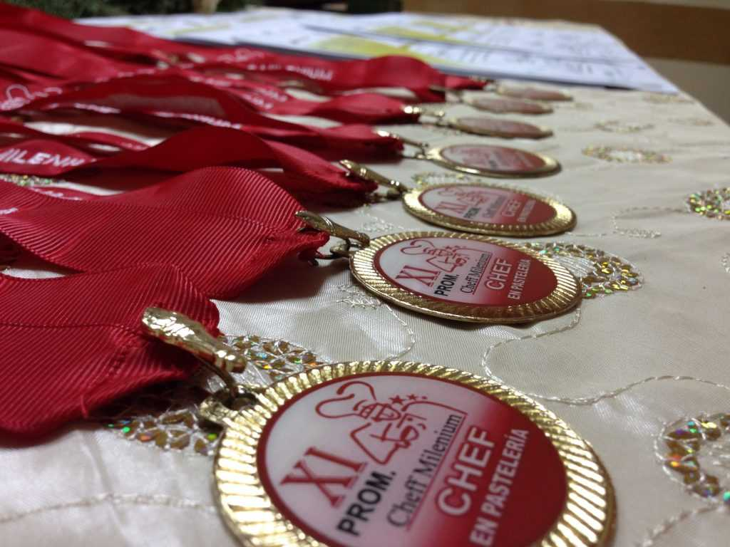 Acto de Certificación de XI promoción de Chef Pastelero
