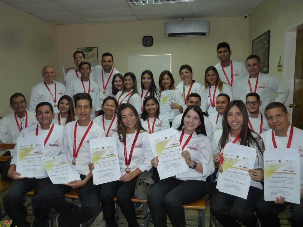 Misa de Acción de Gracias  acto de certificacion, XV Promoción de Chef de Cocina Internacional