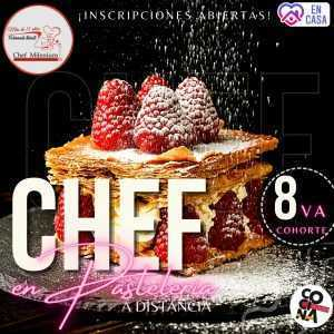 Chef en Pastelería a distancia
