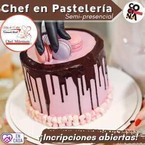 Chef en Pasteleria Semi Presencial