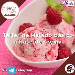 Curso de Helados vía Telegram
