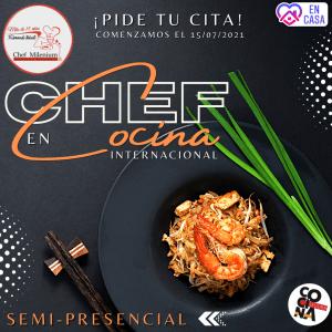 Chef en Cocina Internacional semi presencial