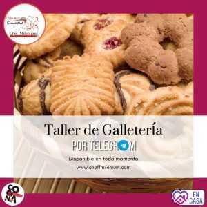 Taller de Galletería vía Telegram