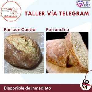 Taller Pan con Costra y Pan Andino