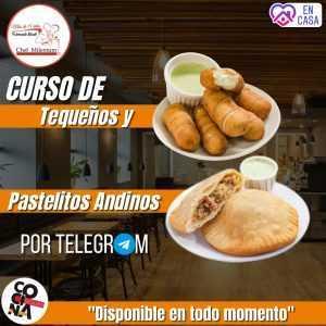 Curso de tequeños y pastelitos andinos